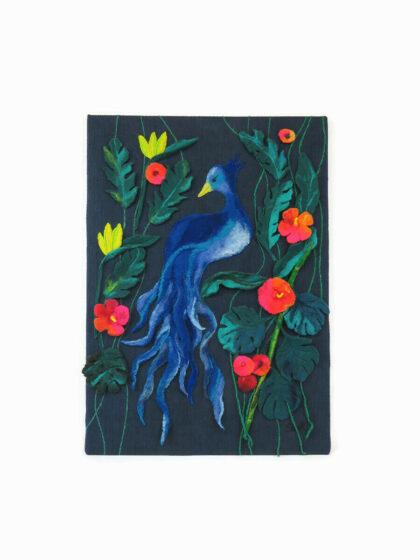 """Monimi Art 06 """"Boldogság Kék madara"""""""