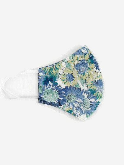 Textil szájmaszk 30 Kék álom