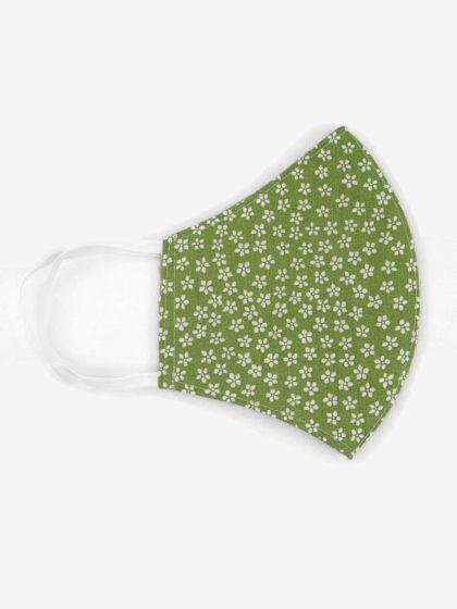 Textil szájmaszk 10 Tavaszi zöld