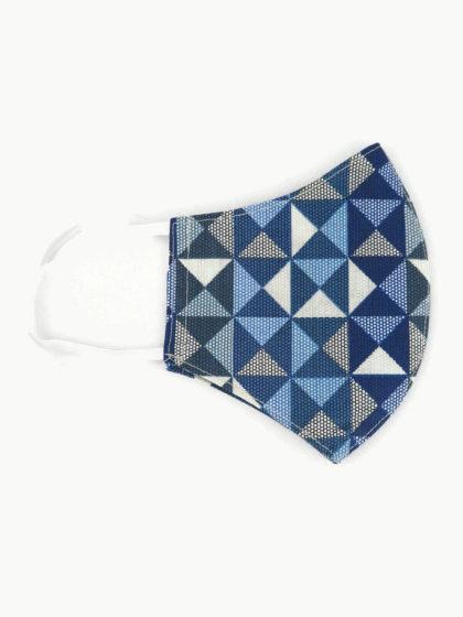 Textil szájmaszk 18 Mozaik mintás