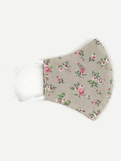Textil szájmaszk 21 Rózsakert