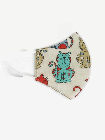 Textil szájmaszk 23 Kövér macskák