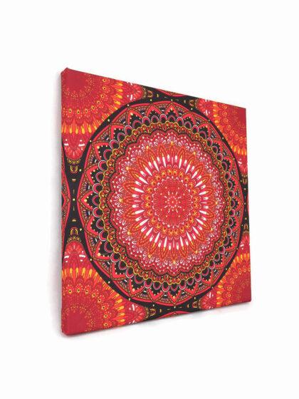 Meditációs vászonkép 01- Gyökércsakra (Muladhara)