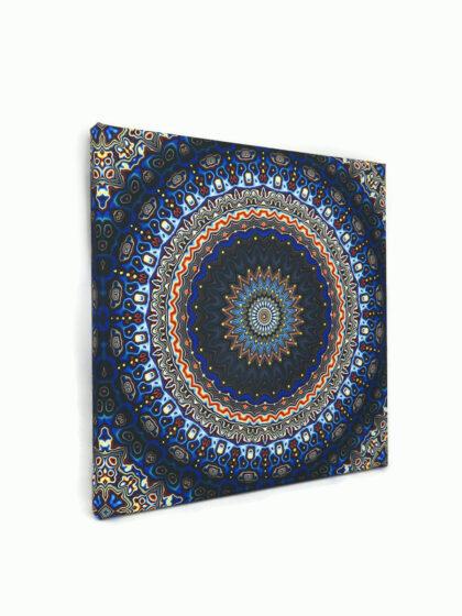 Meditációs vászonkép 05- Torokcsakra (Vissudha)